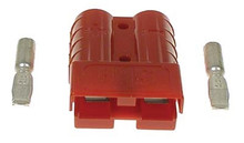 SB50/Anderson Red Charger Plug for EZGO - 10 Gauge