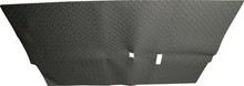 Black Diamond Plate Floor Mat for Club Car DS (1982-Up)