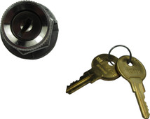 Key Switch with Mixed Keys for EZGO Gas - Two Spade