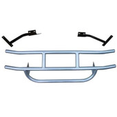 Jake's Brush Grille Guard for EZGO TXT (1994-Up) - Gunmetal
