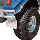 Diamond Plate Mud Flaps for Club Car DS (1983-Up)