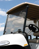 "ALL AMERICAN - EZGO  Folding 3/16"" Acrylic Windshield - Choose Your Model"