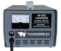 48 Volt 20 Amp Charger - No DC Cord or Plug
