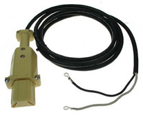2-Prong Retractable DC Cord Set for EZGO - 36 Volt