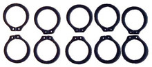 Club Car DS Steering Snap Ring 1984 and up (10/Pkg)