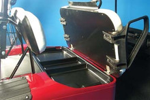 EZGO Black Under Seat Tray - 1994-Up TXT Golf Carts