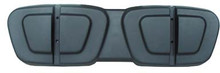 Club Car DS Black Plastic Seat Back Cap 2000 and up