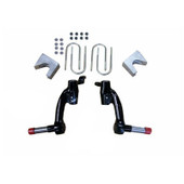 EZGO TXT and Workhorse 1200 Gas Jakes 6'' Spindle Lift Kit 2009.5-Up