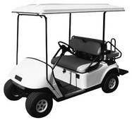 Golf Cart Top Canopy | 80 Inch White color