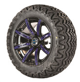 "Madjax 14"" Illusion Wheels with Lifted Tire Options Combo (Choose the Color Insert)"