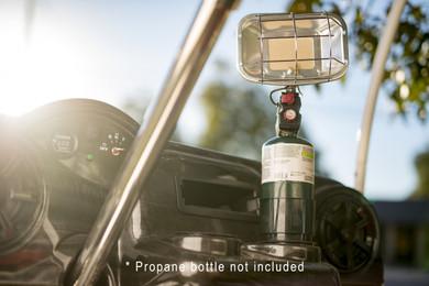 Cup Holder Propane Heater Universal Golf Cart King
