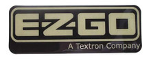 EZGO 2008-Up RXV Name Plate
