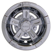 "10"" RHOX Chrome Vegas Style Golf Cart Wheel Cover"