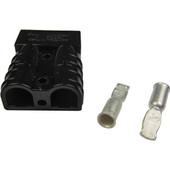 EZGO SB50/Anderson Black Plug - 6 Gauge 1983-95