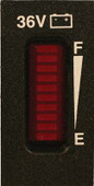 Universal 36 Volt Vertical Battery Meter