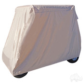 "Universal Golf Cart Storage Cover for Two Person Carts with Tops 57"" - 61"""