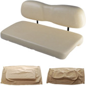 Club Car DS 2000.99 and Newer Replacement Front Seat - Buff Cushions