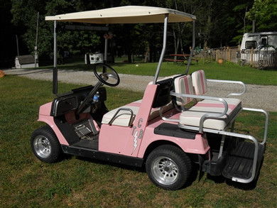 Elvis custom golf cart golf cart king for G9 yamaha golf cart parts