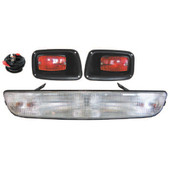 EZGO Medalist  and TXT Headlight Bar and Tail Lights - 1994-Up