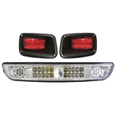 EZGO TXT 1994-2013 LED Light Bar Bumper and Tail Light Kit
