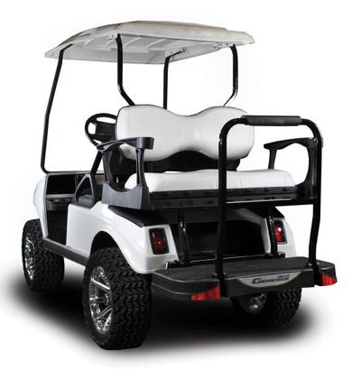 Madjax Genesis 250 Club Car Rear Flip Seat Kit | Steel Frame | DS ...