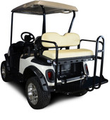 Madjax Genesis 150 EZGO Rear Flip Seat - Choose Your Cart Model and Color