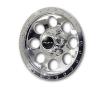 "Madjax 10"" Chrome Wheel Cover Golf Cart - Set of 4"
