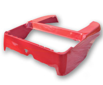 Madjax Club Car Precedent OEM Rear Body - Red