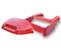Madjax Club Car Precedent Golf Cart OEM Body & Cowl Kit - Red
