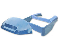Madjax Club Car Precedent Golf Cart OEM Body & Cowl Kit - Atlantic Blue