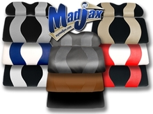 Madjax Two Tone Rear Flip Seat Covers - Choose Colors