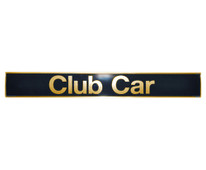 Madjax Club Car Precedent Name Plate