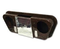 Madjax Universal Golf Cart Stereo Console Woodgrain
