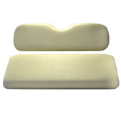 Madjax Ivory Rear Flip Seat Cushion Set - Yamaha G14-G22 Golf Cart