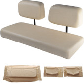 Club Car DS 1982-2000.99 Replacement Front Seat - Buff Cushions
