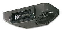 Roof Mount Stereo Console Black