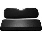 Black Rear Flip Seat Cushion Set