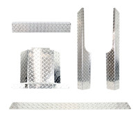 EZGO RXV Diamond Plate Full Accessory Kit 2008-Up