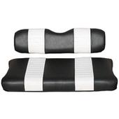 Black and White Premium Vinyl Front Seat Covers