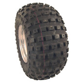 Duro Knobby, 18x9.5-8, 2 ply Golf Cart Tire