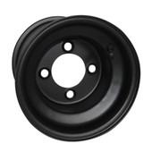 "8""x7"" Rhox Standard Steel Black Golf Cart Wheel"