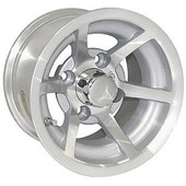"10""x7"" ITP G5 Evador, Machined Golf Cart Wheel"