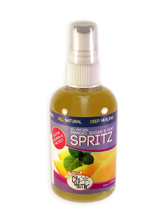 CJ's BUTTer Spritz: All Natural Mango, Sugar & Mint