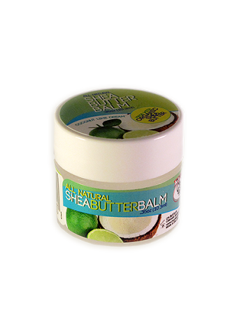 CJ's BUTTer Shea Butter Balm .35 oz. Mini: Coconut Lime Dream