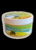 CJ's BUTTer Shea Butter Balm 6 oz. Pot: All Natural Mango, Sugar & Mint