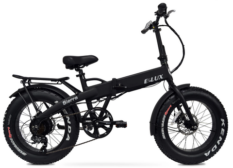 Elux   Electric Bike   Folding   2018 Black