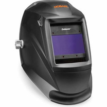 Stay safe and work efficiently with the Hobart Endeavor Welding Helmet. It features large view area lens, three independent arc sensors with grind and weld mode to improve your productivity.
