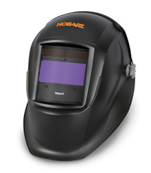 HOBART Impact Series Black Auto-Darkening Variable Shade Welding Helmet