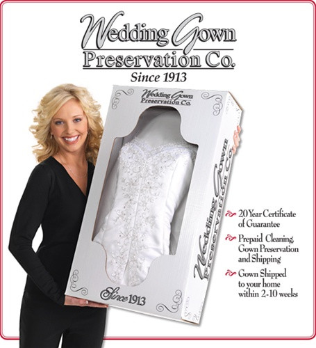 Do It Yourself Wedding Gown Preservation