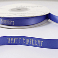 """Happy Birthday"" Ribbon"